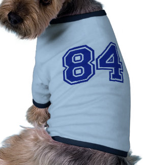 84 - number dog clothes