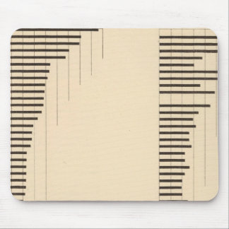 84 Proportion illiterates, foreign white by state Mouse Pad