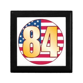 84 USA Gold Gift Box