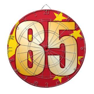 85 CHINA Gold Dartboard