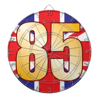 85 UK Gold Dartboard