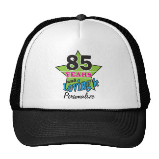 85 Years and Loving it | 85th Birthday | DIY Name Cap