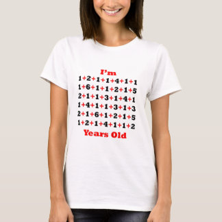 85 Years old! Blk Red T-Shirt