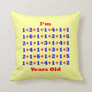 85 Years Old Cushion