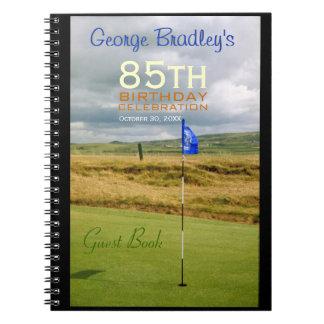85th Birthday Celebration Golf Guest Book