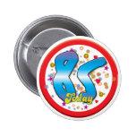 85th Birthday Today Pinback Button