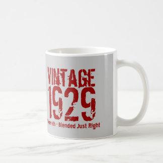 85th Birthday Vintage 1929 or Any Year V01D5 Coffee Mug