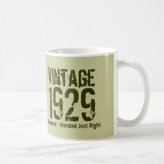 85th Birthday Vintage 1929 or Any Year V01D6 Coffee Mug