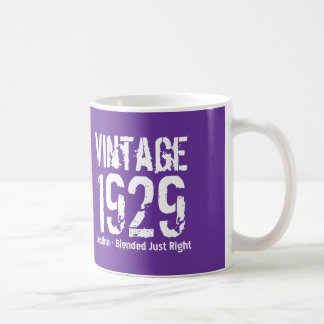 85th Birthday Vintage 1929 or Any Year V01D8 Coffee Mug