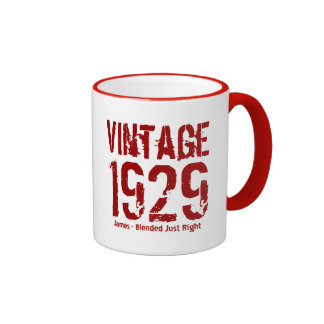 85th Birthday Vintage 1929 or Any Year V01DB Mugs