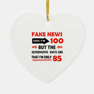 85th year old birthday gifts christmas ornament
