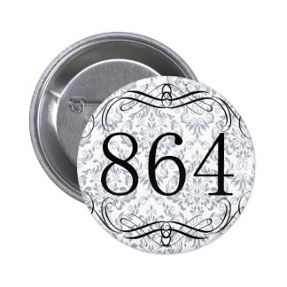 864 Area Code Buttons