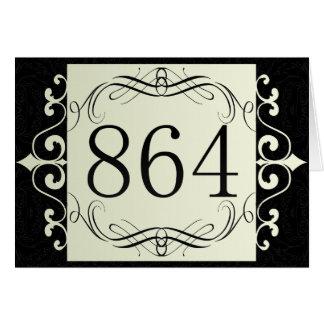 864 Area Code Card