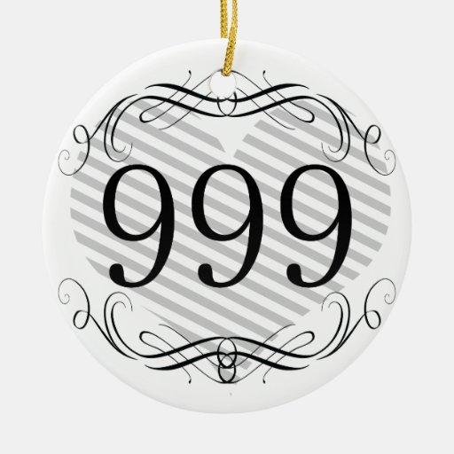 864 Area Code Christmas Tree Ornaments