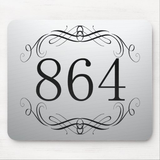 864 Area Code Mouse Pads