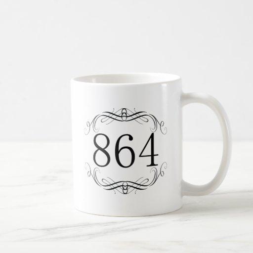 864 Area Code Mugs