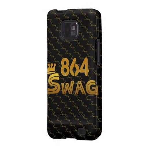 864 Area Code Swag Samsung Galaxy S Cases