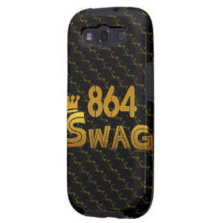 864 Area Code Swag Samsung Galaxy S3 Cover