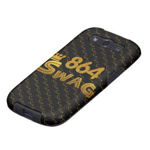 864 Area Code Swag Samsung Galaxy S3 Case