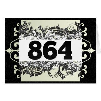 864 GREETING CARD