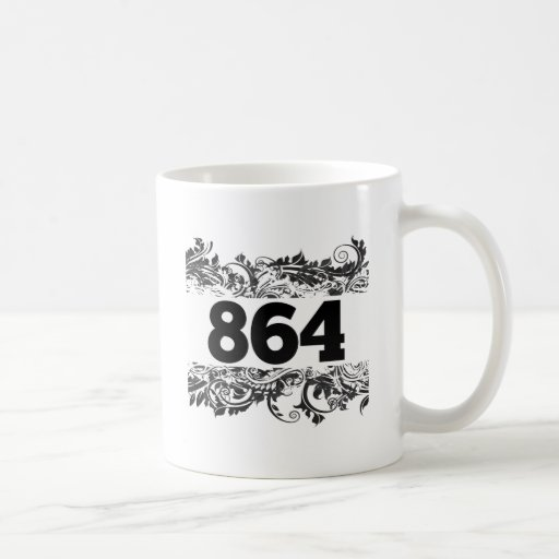 864 COFFEE MUGS