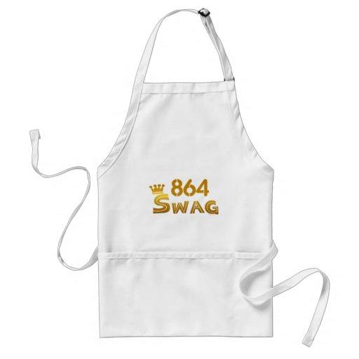 864 South Carolina Swag Apron