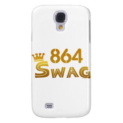 864 South Carolina Swag Samsung Galaxy S4 Case