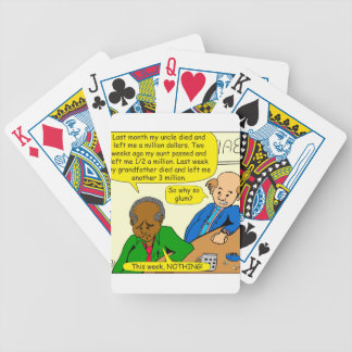 864 why so glum cartoon poker deck