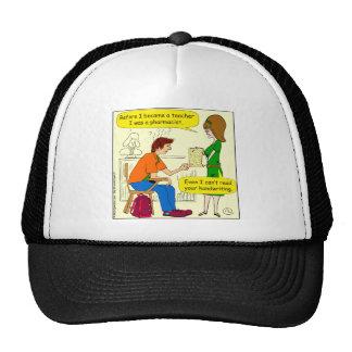 866 handwriting cartoon cap