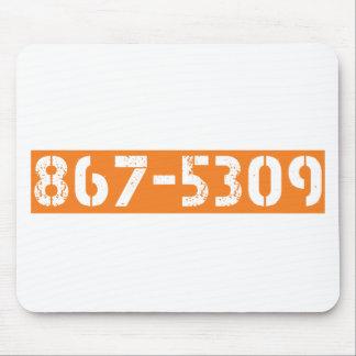 867-5309 MOUSE MAT