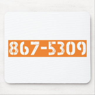 867-5309 MOUSE PADS