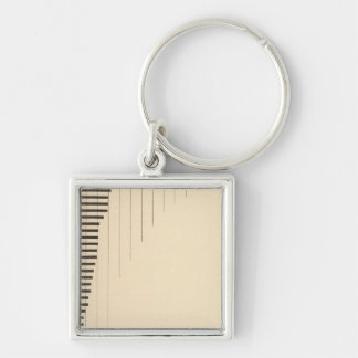 86 Proportion foreign parentage Key Ring