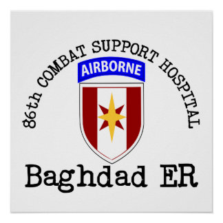 86th CSH Baghadad ER Print