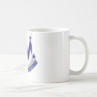 86th Infantry Regiment - Courage and Dependability Basic White Mug