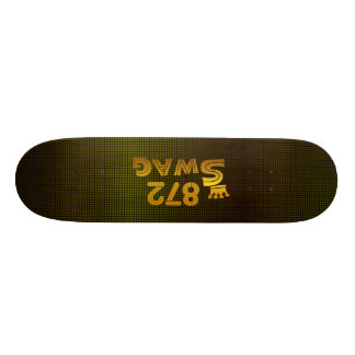 872 Area Code Swag Custom Skateboard
