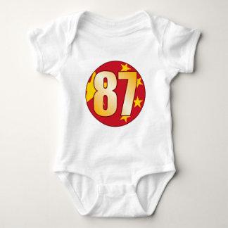 87 CHINA Gold Baby Bodysuit