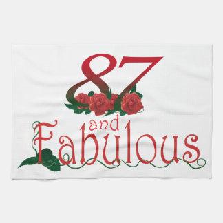 87th Birthday Kitchen Towel