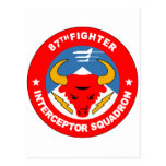 87th Fighter Interceptor Squadron Post Cards