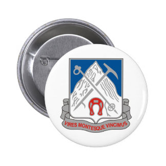 87th Infantry Regiment 6 Cm Round Badge