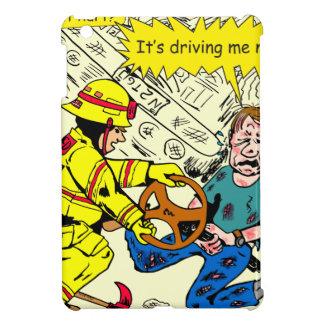882 Its driving me nuts cartoon iPad Mini Cases