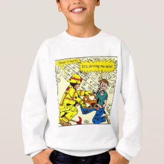 882 Its driving me nuts cartoon Sweatshirt