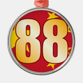 88 CHINA Gold Christmas Ornament