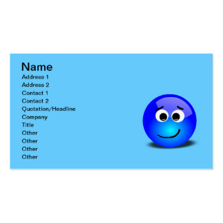 88-Free-3D-Apprehensive-Smiley-Face-Clipart-Illust Pack Of Standard Business Cards