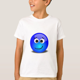 88-Free-3D-Apprehensive-Smiley-Face-Clipart-Illust Shirt