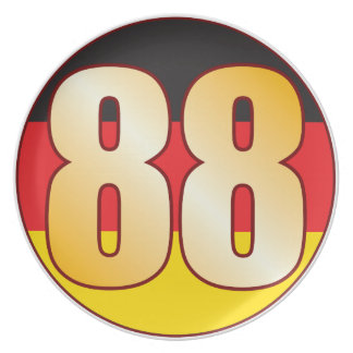 88 GERMANY Gold Party Plates