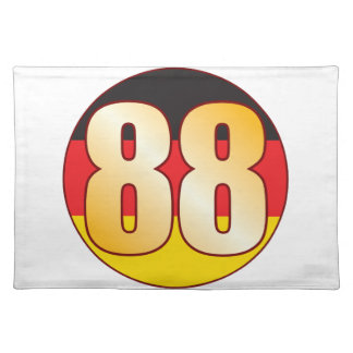 88 GERMANY Gold Placemat