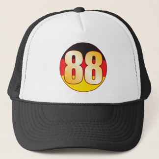 88 GERMANY Gold Trucker Hat
