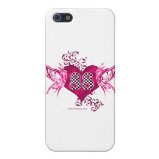 88 racing number butterflies iPhone 5/5S cover