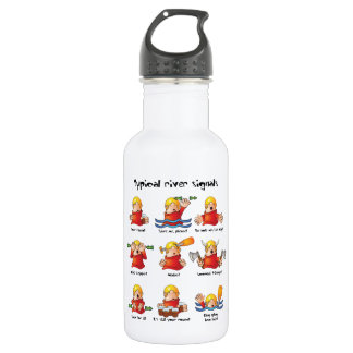 88. River Signals Colour 532 Ml Water Bottle