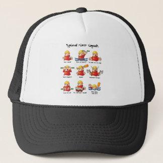 88. River Signals Colour Trucker Hat